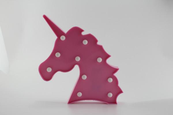 Neuheit 3D Mini Nachtlicht LED Wandleuchte Flamingo Ananas Kaktus Stern Herz Einhorn Für Party Baby Kinderzimmer Lampen Kinder Geschenk Kinder