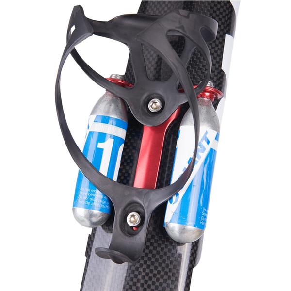 Держатель картриджа CO2 Держатель кронштейна 2 x Control Blast Картриджи CO2 для дорожного велосипеда Клетка для бутылок Крепление для велосипеда Бесплатная доставка DH # 122407
