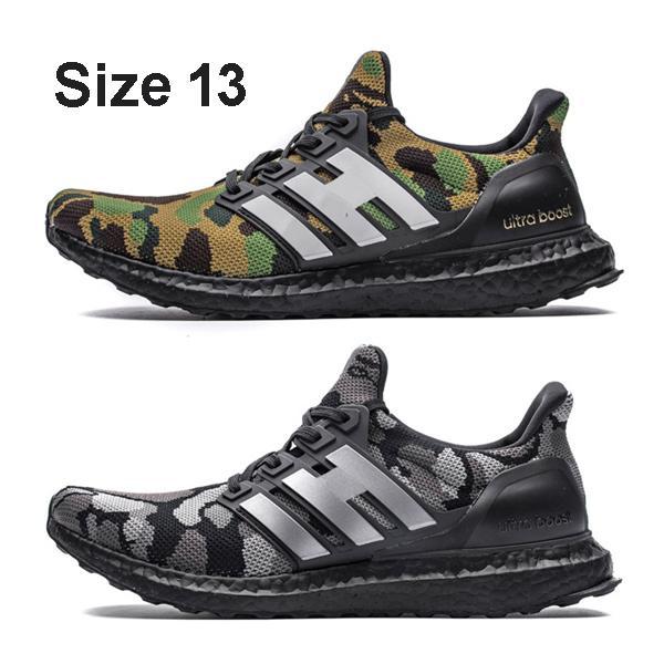 Boyutu 13 Ultra Artırır Camo Yeşil Siyah Sneakers Ayakkabı Satılık, Dükkan Ultraboost 4.0 Üçlü Beyaz Siyah Lacivert Renkli Trainer Tenis ayakkabı