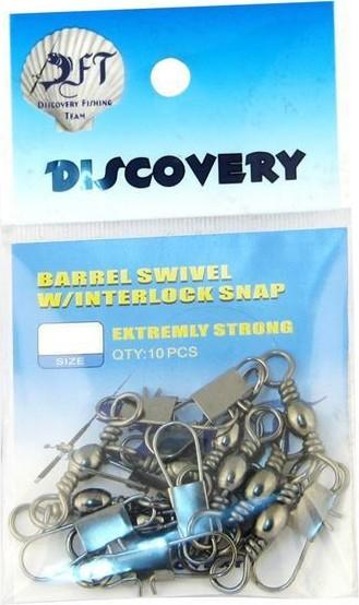 best selling Discovery Swivel Clip Black No: 05 1 10 Ship from Turkey HB-001157287