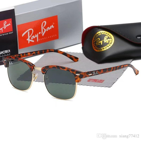 Luxury Attitude Sunglasses For Men Fashion 020 design UV Protection Lens Square Full Frame Gold Color Plated Frame