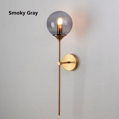 Smoky Gray Glass