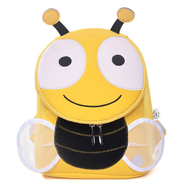 Cocomilo Waterproof Baby Kids Cute Animal Backpack Schoolbag Scatchel Kindergarten Girls Boys Children 3d Cartoon Bee School Bag