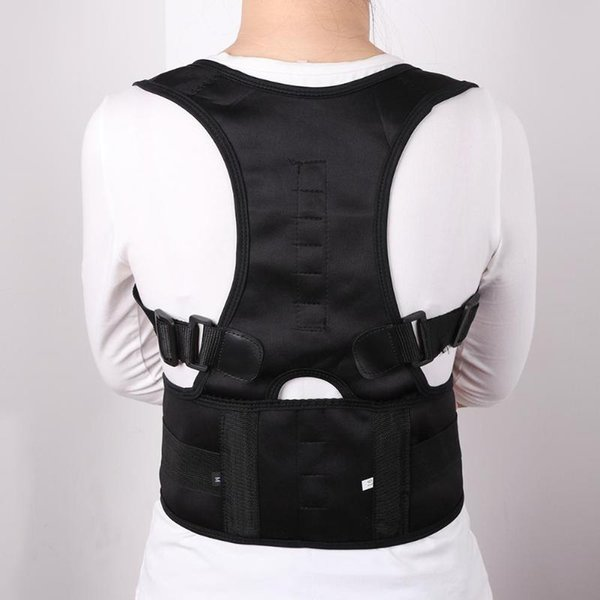 Magnetic Therapy Posture Corrector Brace Shoulder Back Support Belt for Men Women Braces Supports Belt Shoulder Posture 2019 New
