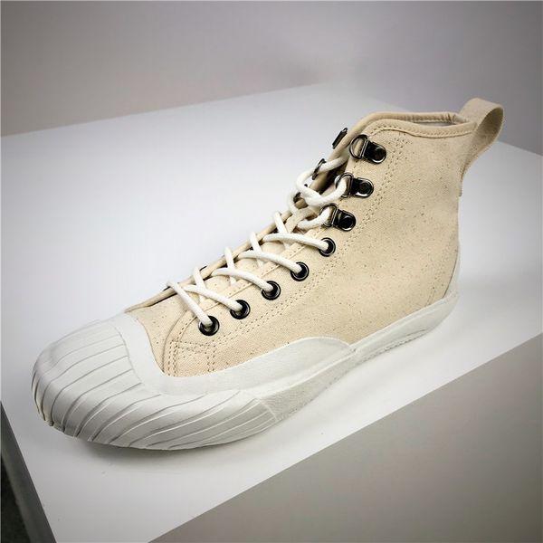 Ultima moda Kanye Triple Giappone tela Designer Shoes Lace Up Designer classico stile vintage unisex Alti Scarpe Uomo Donna scarpe impermeabili