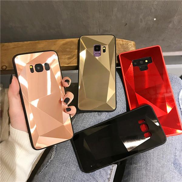 silicon fashion Diamond Mirror Case For Iphone XR XS MAX Samsung Galaxy A70 A50 A30 A10 M30 M20 M10 S10 S10e S8 S9 A9 A7 A8 Note10 pro Note9