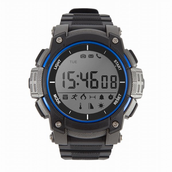 120 Feet Waterproof Outdoor Sports Smart Watch Bluetooth Fitness Tracker Watch Reminder Sleep UV Altitude Monitor Smartwatch For IOS Android
