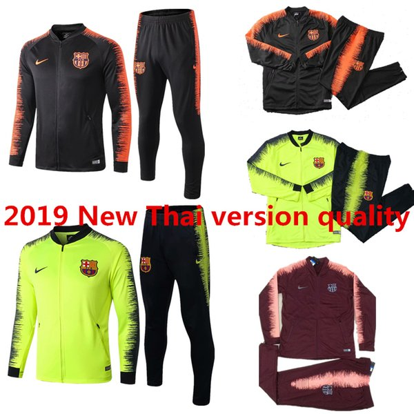 0b75abaf39d25 2018 2019 FC Barcelona tracksuit set Sportswear Suit 18 19 Men's MESSI  jacket survetement suit football