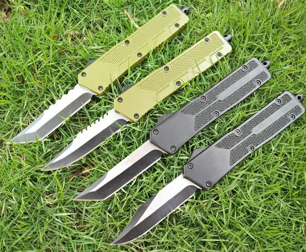 Predator 440C lame double action chasse pliage lame fixe Couteau Pliant Couteau Survie Couteau Noël cadeau pour hommes C149 Vallotton