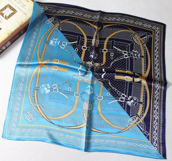 Gorgeous lock belt blue and black