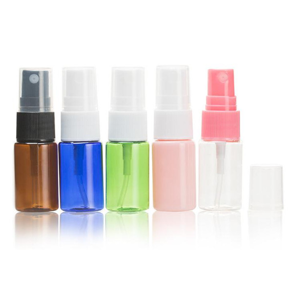 Wholesale 10ml spray bottle, PET bottle small watering can, cosmetic packaging bottles, sample bottles, free shipping SN2612