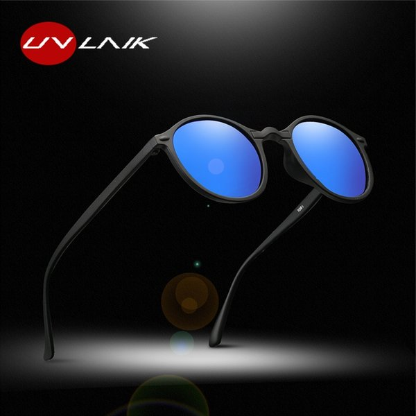 UVLAIK Gece Görüş Polarize Güneş Gözlüğü Erkek Kadın Yuvarlak Gözlük Gözlük Güneş Gözlükleri Erkekler Için Sürücü Gece Sürüş Gözlük Şekiller # 16140