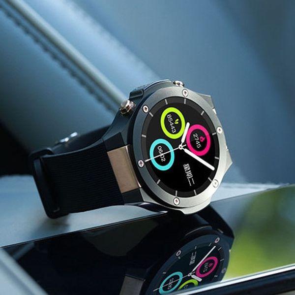 Android Ios 1G+16GB Smart Watch 1.39 Inch Mtk6580 SmartWatch Phone 3G Wifi GPS 5M Heart Rate Nano SIM GSM WCDMA Sport Smart Wristwatch