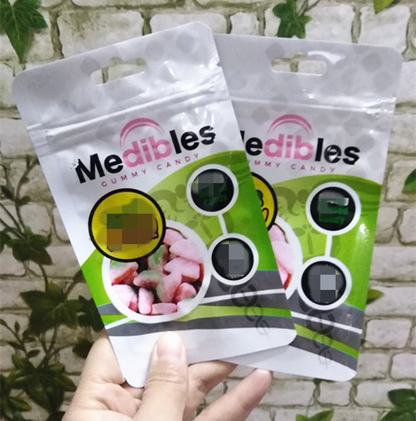top popular medibles bag 7 styles plastic edibles packaging bag zipper smell proof cheap in stock fast shipping 2020