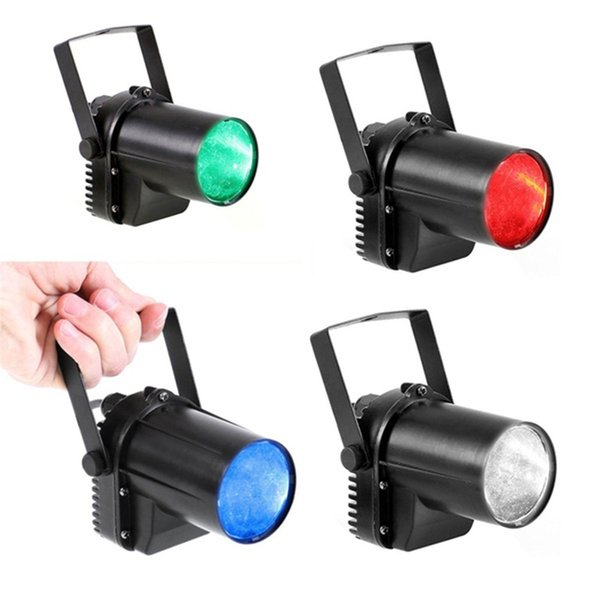 LED Beam Pinspot Light DJ Mirror Ball Lighting Pin Spot Indoor Projection Lamp for KTV Bar Club Party Disco LED 3 Watt Pure White