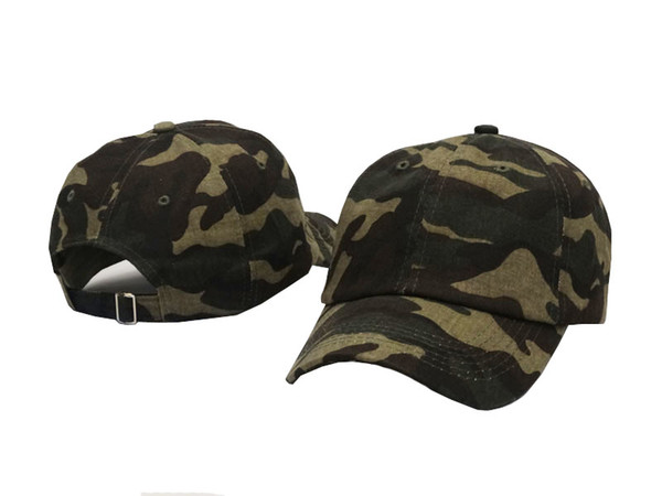 Camo Hunting Hats Unisex Summer Cap Strapback Women Men Baseball Hats cotton Adjustable Plain Golf Classic Fashion snapback Casquette