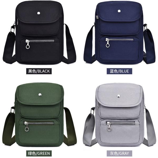Mini Bags Women Man 2019 British Style Shoulder Bags High Capacity Youth Messenger Leisure Teenage Girls Oxford Handbag