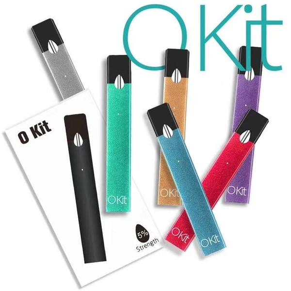 electronic cigarette pod pen device e cigarette kit 4 pods vaporizer refillable tank smoking quit smoke electronic pen dhl free