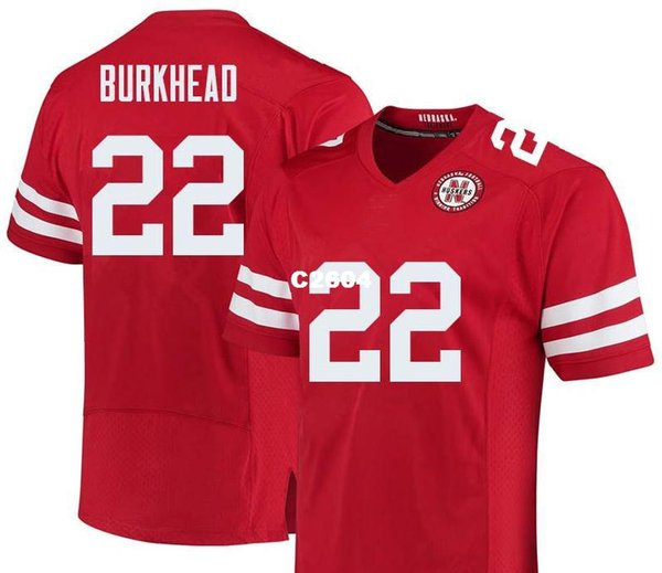 info for 81e98 7cce3 2019 Men Nebraska Cornhuskers Rex Burkhead #22 Real Full Embroidery College  Jersey Size S 4XL Or Custom Any Name Or Number Jersey From C2604, $16.45 |  ...