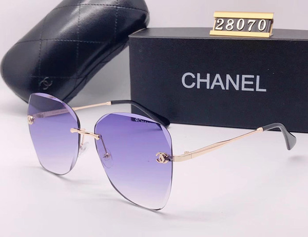 Brand Designer Sunglasses High Quality Metal Hinge Sunglasses Men Glasses Women Sun glasses UV400 lens Unisex with cases and box 620-12