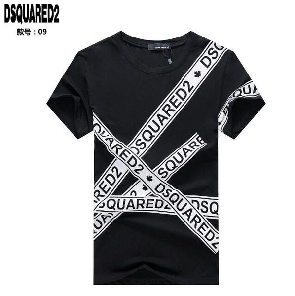2019 Felpe con cappuccio D2 Canada GOOD uomo di alta qualità DSQ009 T-Shirt Italia Moda casual Autunno inverno manica lunga Felpa Hip-Hop DS2 tees