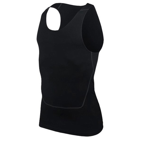 HOT Men Sport Gym Vest Sleeveless Quick Drying Compression Tight Tank Tops HV99