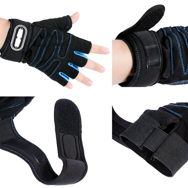 Gym Gloves Heavyweight Sports Exercise Weight Lifting Gloves Body Building Training Sport Fitness Gloves for Fiting Cycling #2