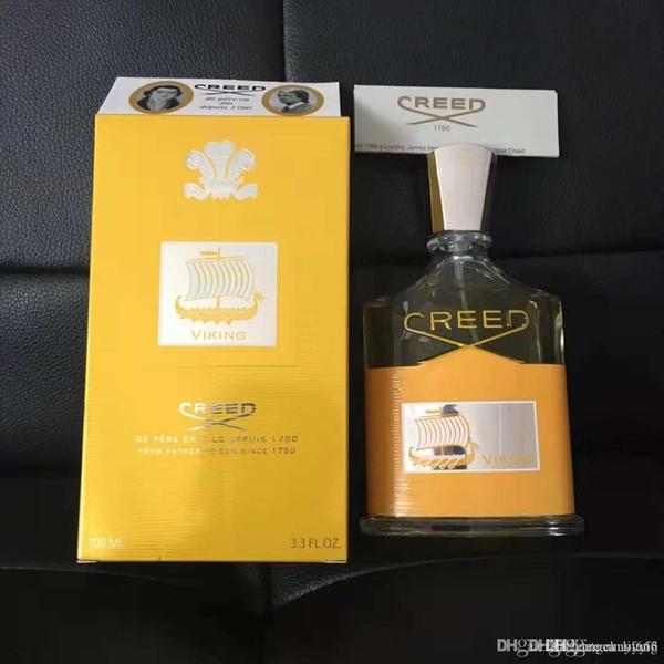 top popular Royal Virgin Sea golden Creed parfum women perfume men cologne with long lasting time good smell good qualit fragrance Christmas gift 1ml 2021