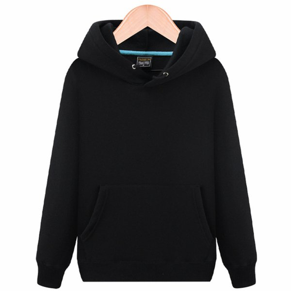 2018 Fashion Simple Lover Sweatshirts Men Casual Solid Hoodies Women Autumn Winter Warm Fleece High Quality Hoodies