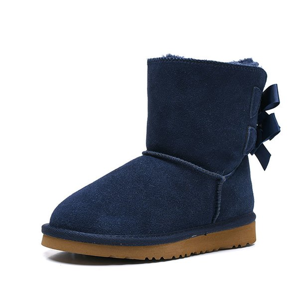 ankle boots blue