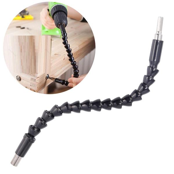 1/4 Eje flexible Broca electrónica Destornillador Tenedor de broca Enlace de conexión Multitul Hex Shank Extension Bit Multitool Dropshipping