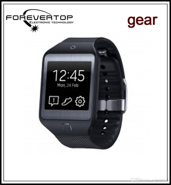 """LX36 Gear 2 Smart Watch Neo R380 Bluetooth Smartwatch 1.54"""" 1.54inch Camera Wristwatch for iphone Samsung IOS Android phone with box"""