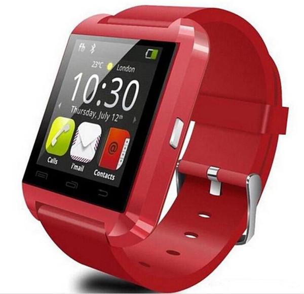U8 Smart Watch Bluetooth da polso Altimeter Smartwatch per Apple iPhone 6/6 PLUS Samsung S6 Note Android HTC telefoni Smartphone