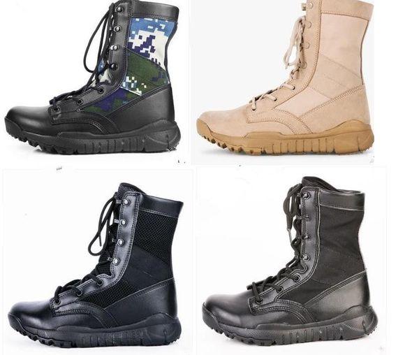 Qualität Schuhe Armee Herren Großhandel Enthusiasten Taktische 2018 Neue Hohe Wandern Stiefel Wüste Militärische Leder Outdoor zSqUMGpV