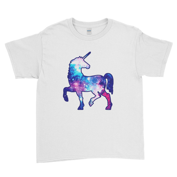 Rainbow Galaxy Unicorn Cool - Unicorn Kids T Shirt Unisex Kids Tees camiseta personalizada Jersey