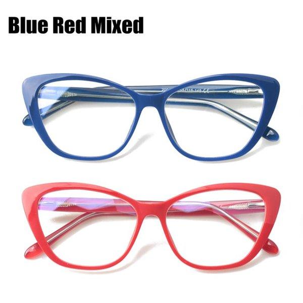Azul Rojo Mezclado