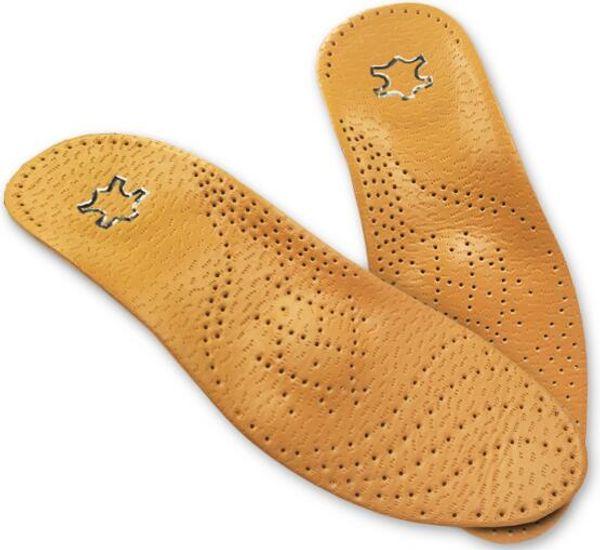 Heißer Verkauf Leder Orthesen Einlegesohle für Flat Foot Arch Support 25mm orthopädische Silikon Einlegesohlen für Männer und Frauen