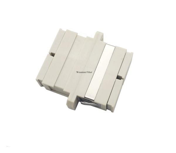 10pcs SC Duplex Optical Fiber Adapter Fiber Coupler Fiber Connector Multi Mode