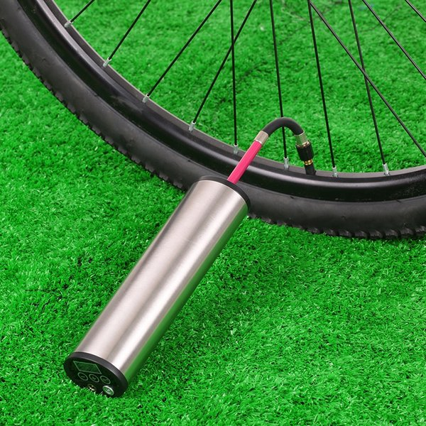 Green-Black Imported Alloy Bicycle Pump High Pressure Ultralight Portable Pump