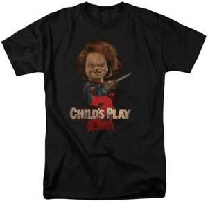 Childs Play 2 Filme Assustador ChuHip hopy Permanente Com Uma Faca Adulto Camiseta