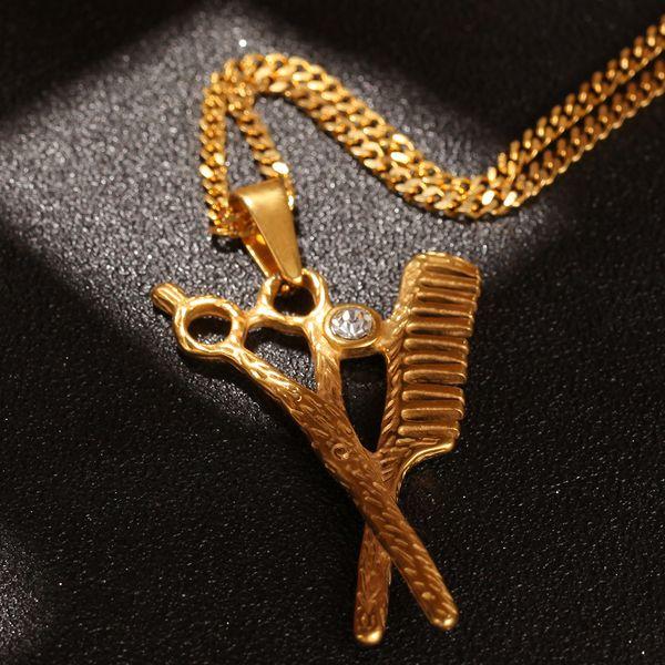 Gold,3mm 24inch Cuban Chain