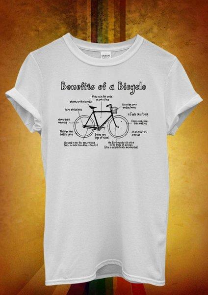 Nutzen einer Fahrrad-Gesundheits-lustigen kühlen Frauen-Unisext-shirt Trägershirt-Weste 837