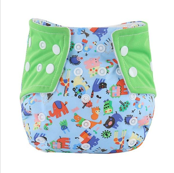 Printed Kids Training waterproof Pant Cartoon Diapers Print Baby Nappies Washable Reuseable Modern Kid Cloth Diapers MOQ 10Pcs S19JS196