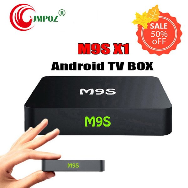 5PIECE!! Android TV Box M9S X1 Amlogic S905X 2.4G wifi Quad Core 4K Streaming Media Player OTT Boxes better MXQ PRO S905W 2GB DHL