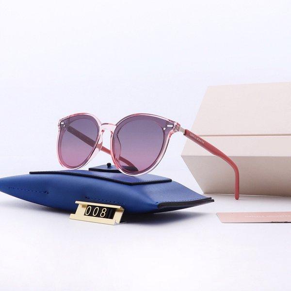 new designer sunglass korean designer Irresistor fashion model cat eye frame mirror lens cool shiny style polarized lens