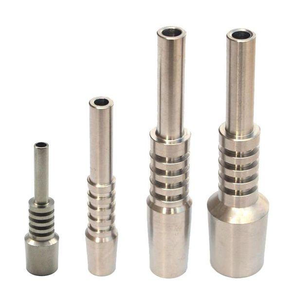 Titanium Nectar Collectors Tip Titanium Nail 10mm 14mm 18mm Inverted Nail Grade 2 Titanium Tip Ti nail For Glass Nectar Collectors DHL