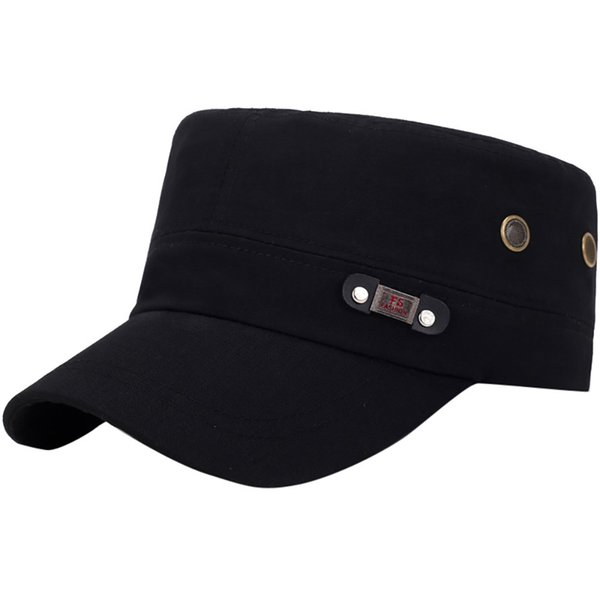 2019 Fashion Hat Mens Washed Hats Flat Top Baseball Caps Cotton Dad Caps Hot sale