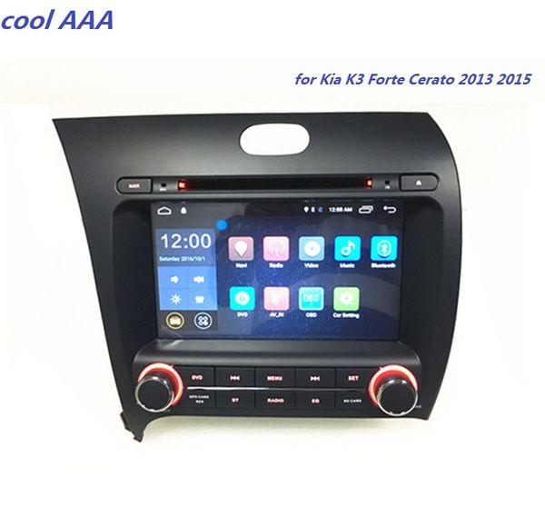 androider Autoradio gps DVD-Spieler für Kia K3 Cerato Forte 2013 -2014 wifi bluetooth 3G 4G