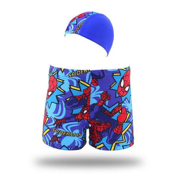 520e4b211b Spider Man Swim Trunks Baby Boys Print Swimwear Kids Summer Beach Swim  Trunks Children Surf Clothes