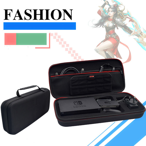 Best For Nintendo switch game console accessories big package military plus long EVA storage bag